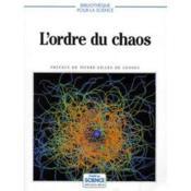 L'ordre du chaos - Couverture - Format classique