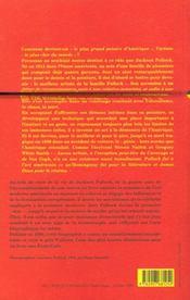 Jackson pollock - 4ème de couverture - Format classique