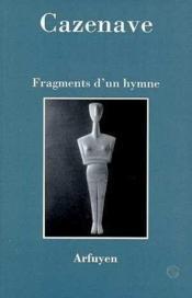 Fragments d'un hymne - Couverture - Format classique