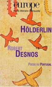 Europe Holderlin/Robert Desnos N851 - Couverture - Format classique
