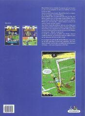 Les footmaniacs t.2 - 4ème de couverture - Format classique