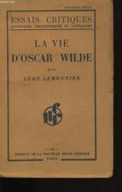 La Vie D'Oscar Wilde. - Couverture - Format classique