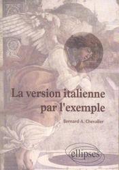 La Version Italienne Par L'Exemple - Intérieur - Format classique
