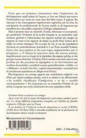 Familles africaines en France - 4ème de couverture - Format classique
