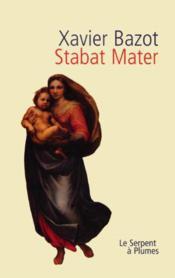 Stabat Mater - Couverture - Format classique