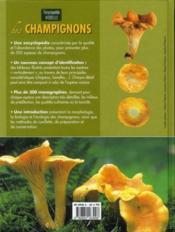 Encyclopédie visuelle des champignons - 4ème de couverture - Format classique