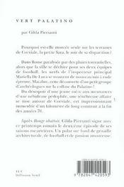 Vert Palatino - 4ème de couverture - Format classique