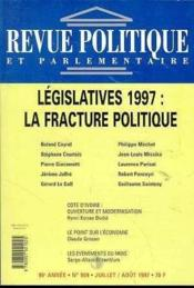 Revue Politique Et Parlementaire N° 989 - Couverture - Format classique