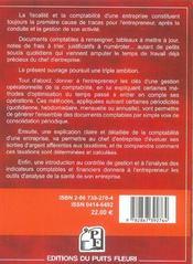Gerer Une Entreprise De Moins De 10 Salaries. Comptabilite Et Fiscalite Des Petites Entrperises, Art - 4ème de couverture - Format classique