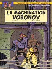Blake Et Mortimer T.14 ; La Machination Voronov - Intérieur - Format classique