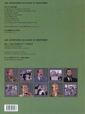 Blake Et Mortimer T.14 ; La Machination Voronov - 4ème de couverture - Format classique