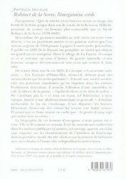 Robinet de la serve, l'énergumène créole - 4ème de couverture - Format classique