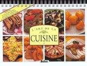 L'art de la cuisine - Intérieur - Format classique