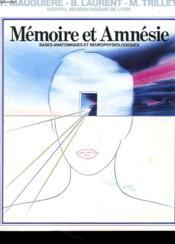 Memoire Et Amnesie - Couverture - Format classique