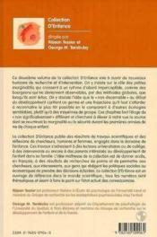 Developpement Emotionnel Et Social De L'Enfant - Couverture - Format classique