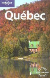 Québec (5e édition) - Intérieur - Format classique