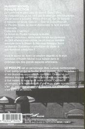Poulpe Fiction - 4ème de couverture - Format classique