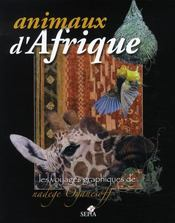 Animaux d'afrique, voyages graphiques de nadège oganesoff - Intérieur - Format classique