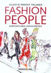 Fashion People ; Caricatures Indiscretes - Couverture - Format classique