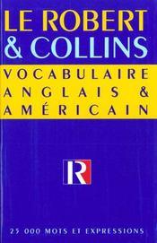Robert et collins vocabulaire anglais et americain - Intérieur - Format classique