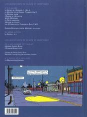 Blake Et Mortimer T.15 ; L'Etrange Rendez-Vous - 4ème de couverture - Format classique