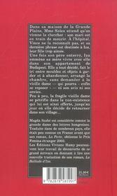 La Ballade D'Iza - 4ème de couverture - Format classique