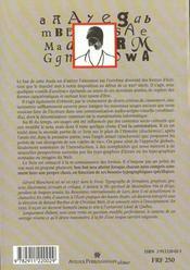 Aide Au Choix De La Typo-Graphie - Cours Superieur - 4ème de couverture - Format classique