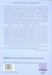 Figures du Gabon contemporain, problèmes et perspectives - 4ème de couverture - Format classique