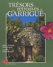 Trésors retrouvés de la Garrigue - Couverture - Format classique