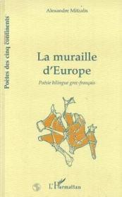 La muraille d'Europe - Couverture - Format classique