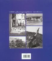 39-45 : 1000 images inedites des archives militaires - 4ème de couverture - Format classique