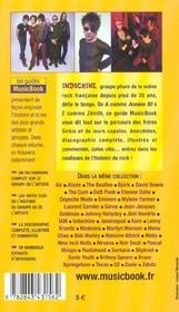 Indochine De A A Z - 4ème de couverture - Format classique