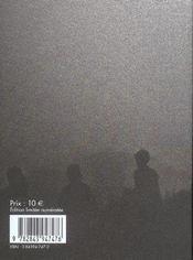 Ombres Chinoises - 4ème de couverture - Format classique