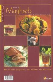 Cuisine Du Maghreb - 4ème de couverture - Format classique