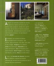 Carnets de charme ; Provence & Côte d'Azur - 4ème de couverture - Format classique