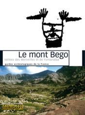 Le Mont Bego - Couverture - Format classique