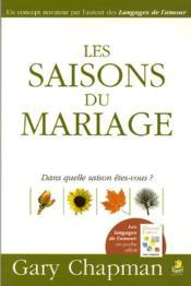 Les saisons du mariage - Couverture - Format classique
