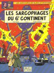 Blake Et Mortimer T.16 ; Les Sarcophages Du 6e Continent T.1 - Intérieur - Format classique