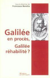 Galilée en procès, Galilée réhabilité ? - Intérieur - Format classique