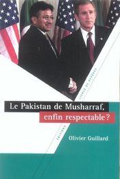 Le pakistan de musharraf, enfin respectable ? - Intérieur - Format classique