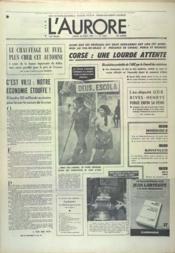 Aurore (L') N°9631 du 26/08/1975 - Couverture - Format classique