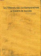 Les Litteratures Contemporaines A Travers Le Monde - Couverture - Format classique