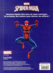 Super Colo ; Spider-Man ; Super Power Colo - 4ème de couverture - Format classique