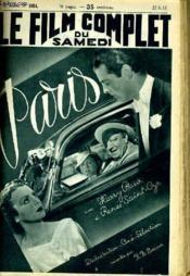 Le Film Complet Du Samedi N° 1954 - 16e Annee - Paris - Couverture - Format classique