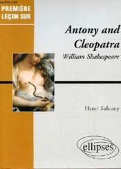 Antony And Cleopatra William Shakespeare - Couverture - Format classique