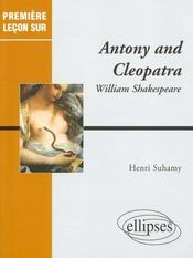 Antony And Cleopatra William Shakespeare - Intérieur - Format classique