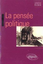 La Pensee Politique - Intérieur - Format classique