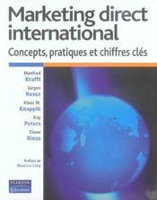 Marketing direct international ; concepts, pratiques et chiffres cles - Intérieur - Format classique