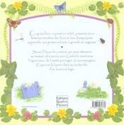 Contes du bois des campanules - 4ème de couverture - Format classique