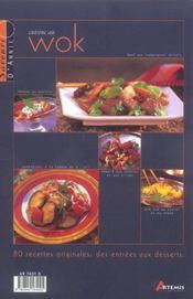 Cuisine Au Wok (La) - 4ème de couverture - Format classique